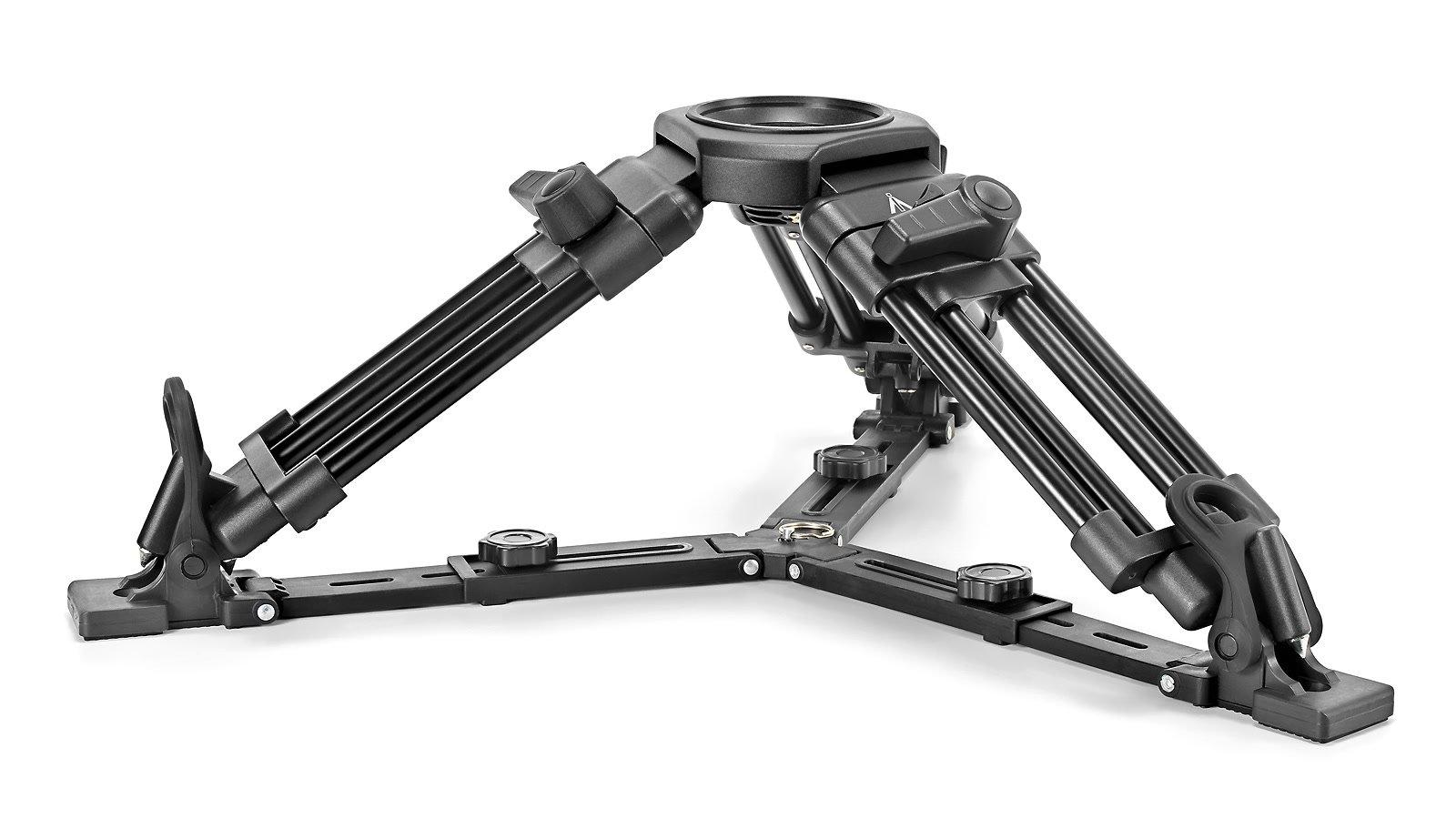 E-IMAGE EI-7501 Medium / Baby Stativbeine mit 75mm und 100mm Halbschale.