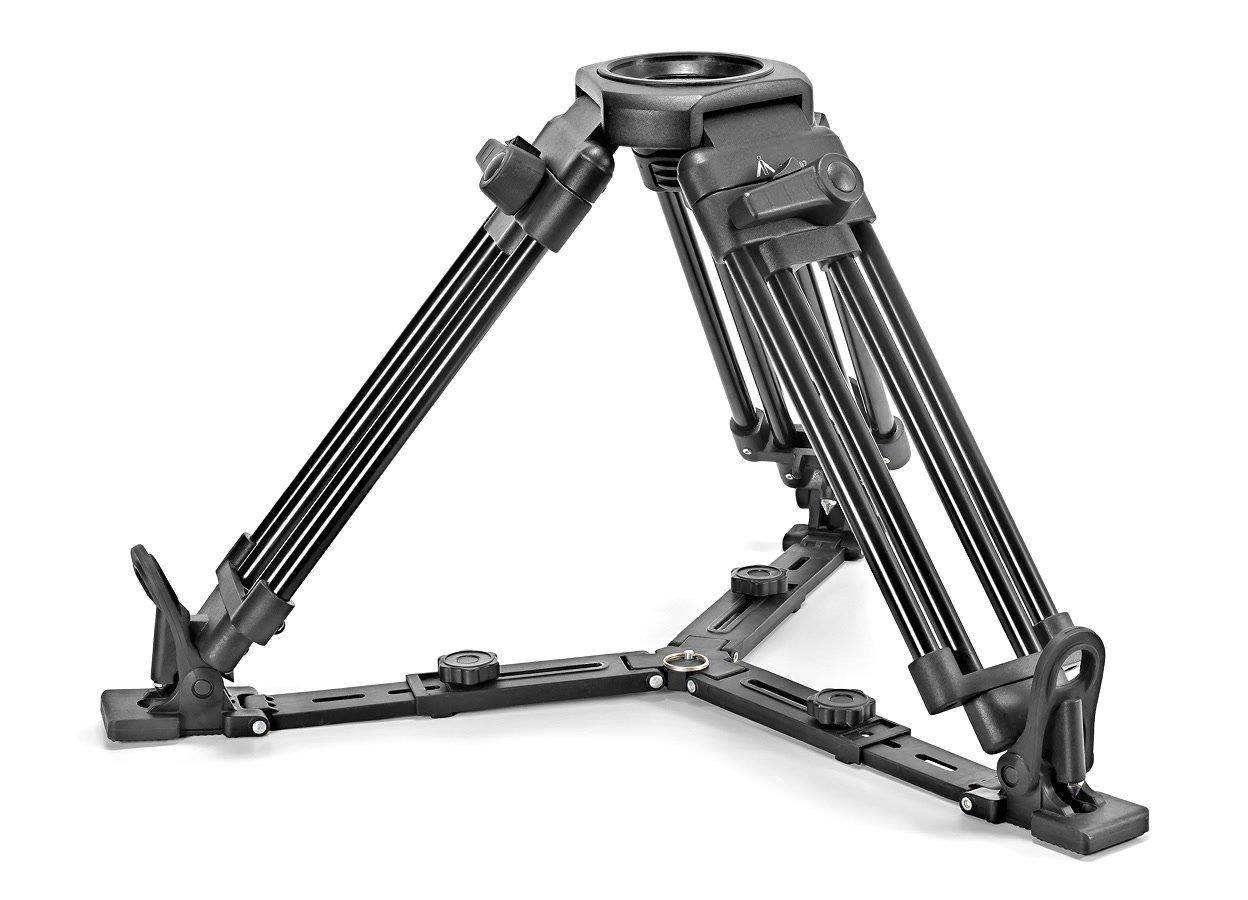 E-IMAGE EI-7502 Medium / Baby Stativbeine für 75mm und 100mm Stativköpfe.