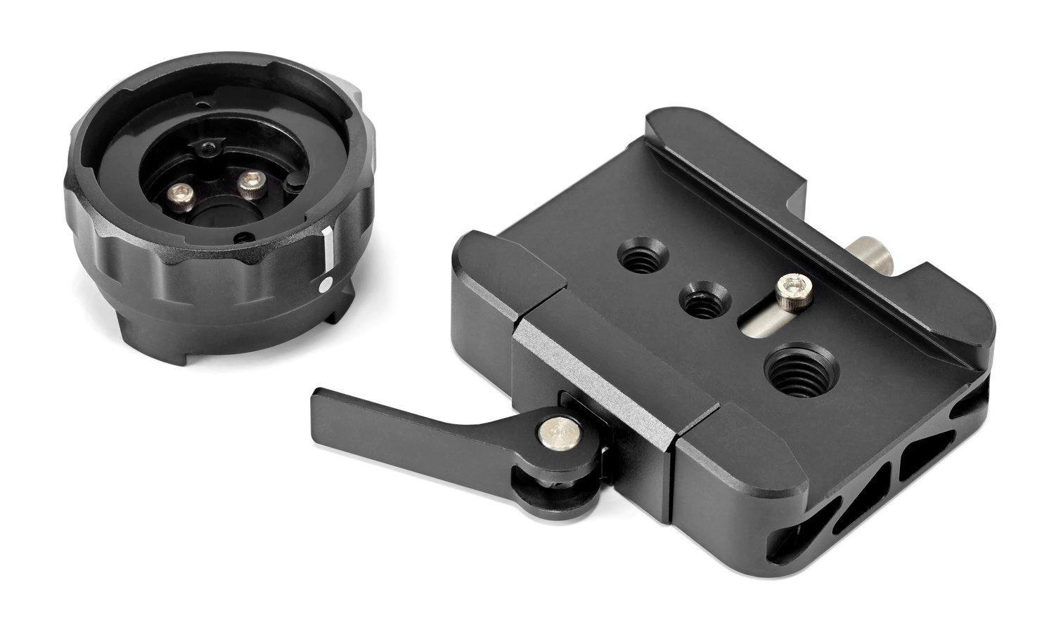 Der Bajonettadapter verfügt über einen Dovetail Style Anschluss.