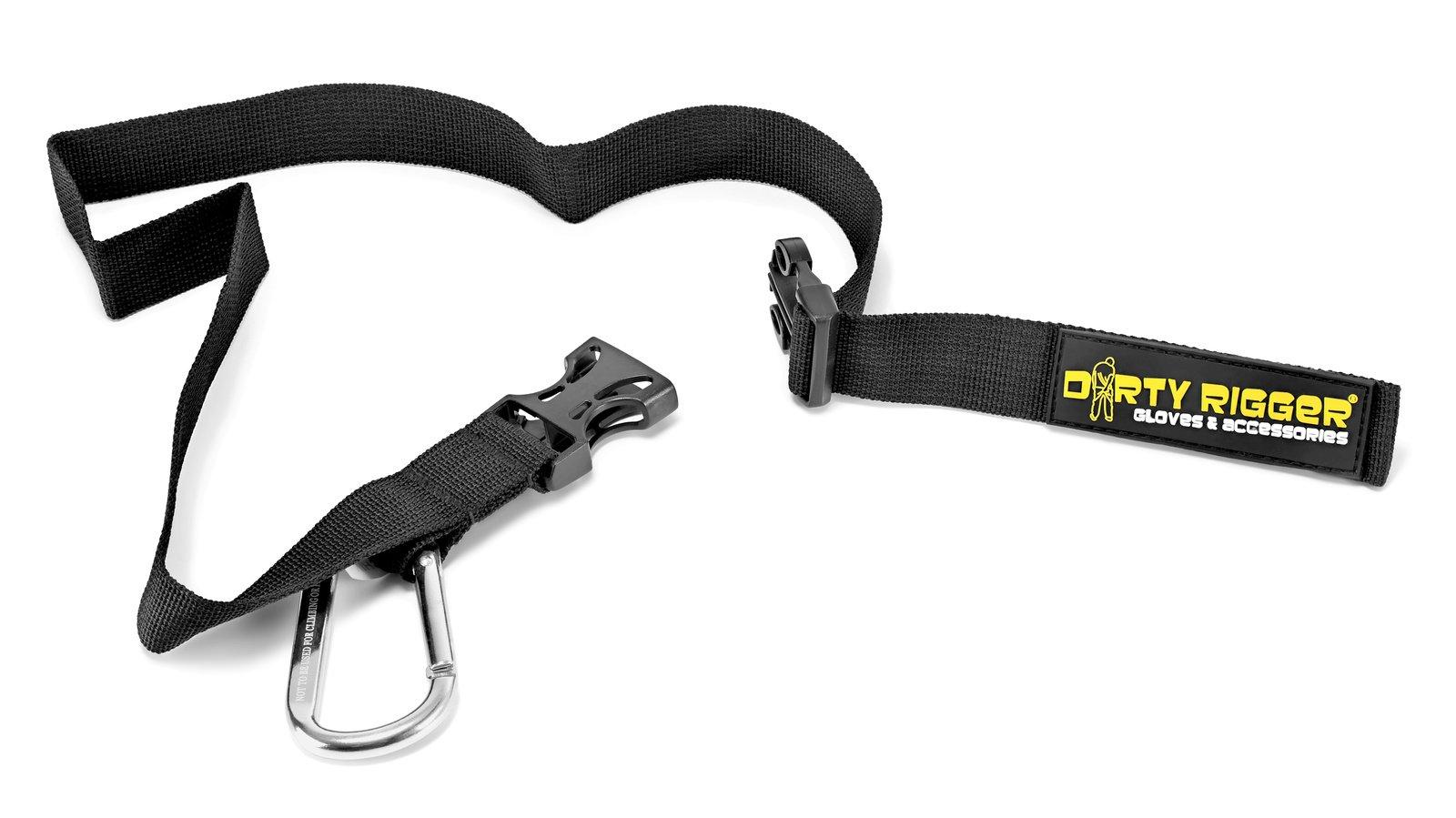 Dirty Rigger MAG Tape Holder mit Karabinerhaken für Gaffa oder Lassoband.