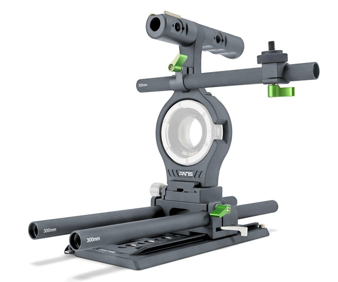 Lanparte DK-01 Dragon Kit Cage für E-Mount Kameras mit Metabones Adpater.