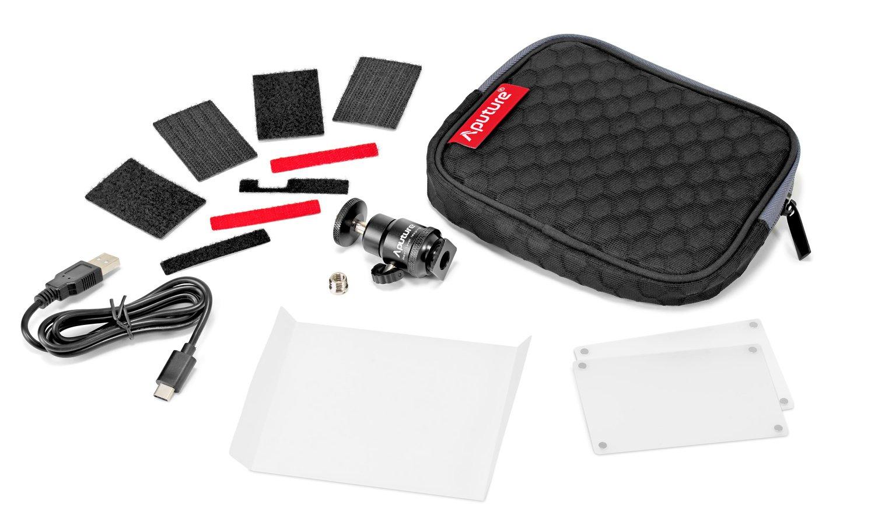 Zum Lieferumfang der AL-MX gehören Diffusoren, Tasche und mehr.