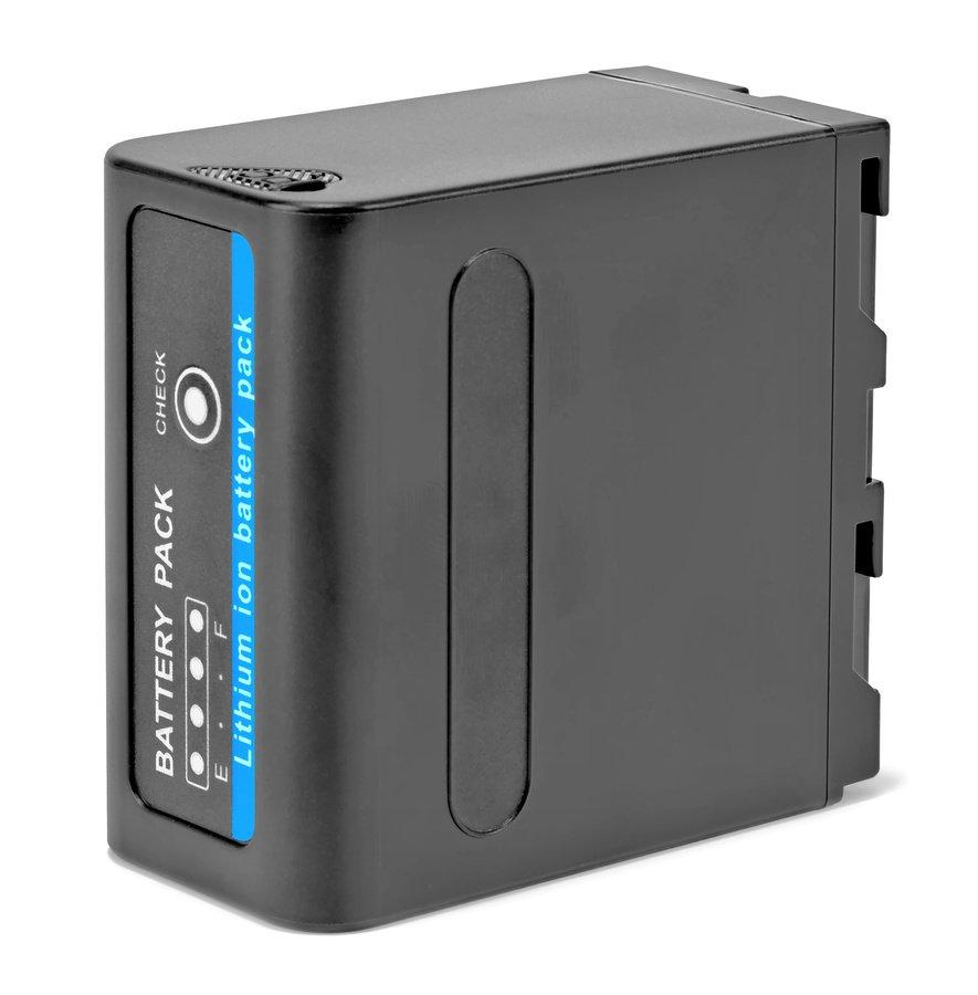 ROKO NP-F980 Akku mit USB und DC Out für NP-F Akkusystem (74Wh).
