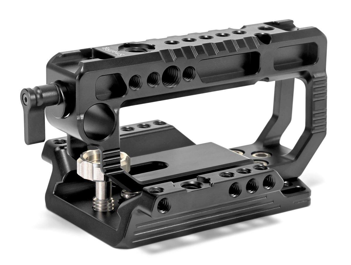 Der Griff ist genau so robust wie die BlackMagic URSA Mini selbst.