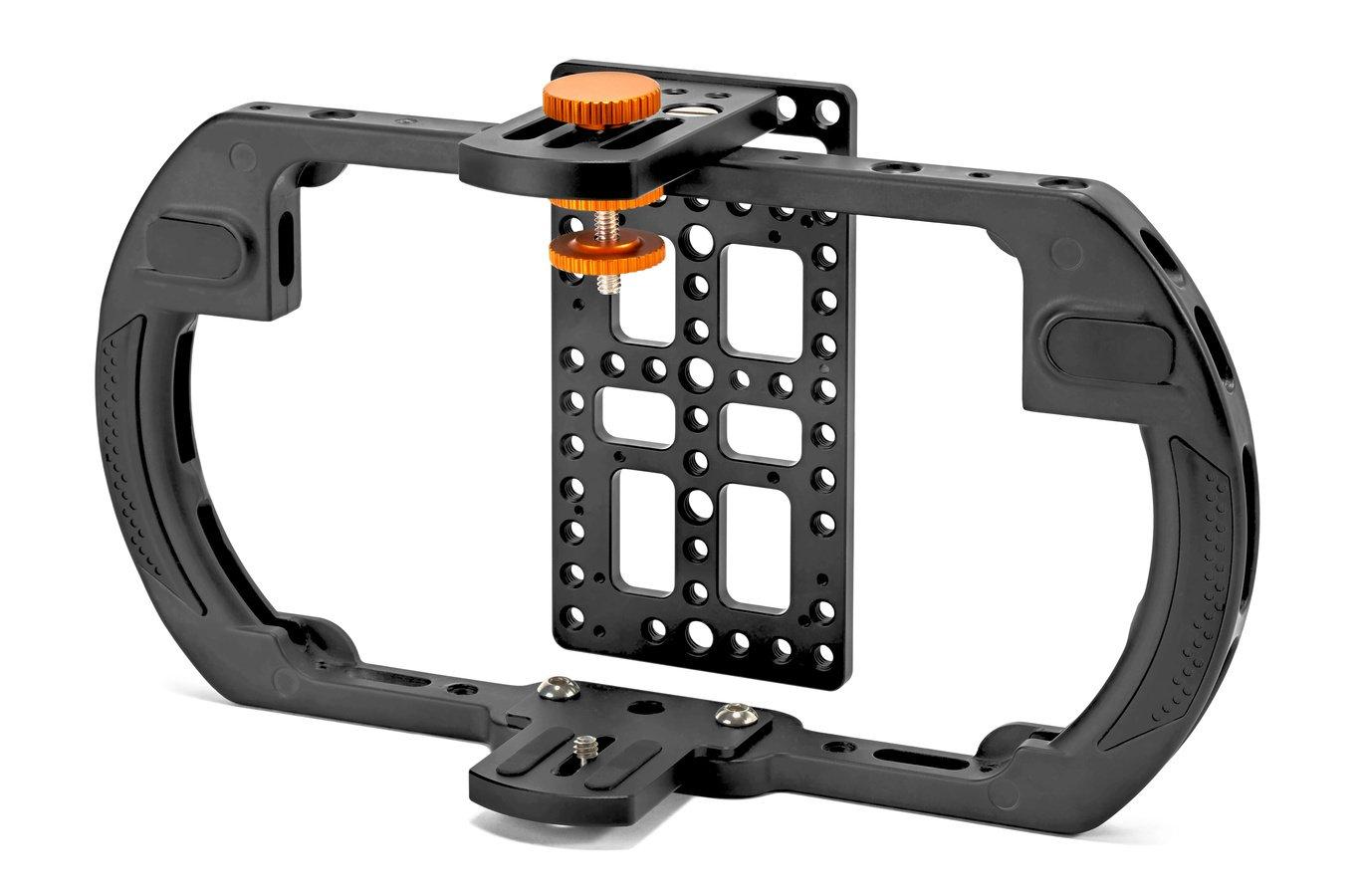 E-IMAGE Q60M Cage für Monitor bis 148mm Höhe oder 7 Zoll Bilddiagonale.