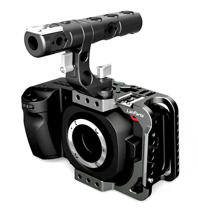 Lanparte BMPCC4K-HC Half Cage / offener Käfig  für BMPCC 4K Kamera.