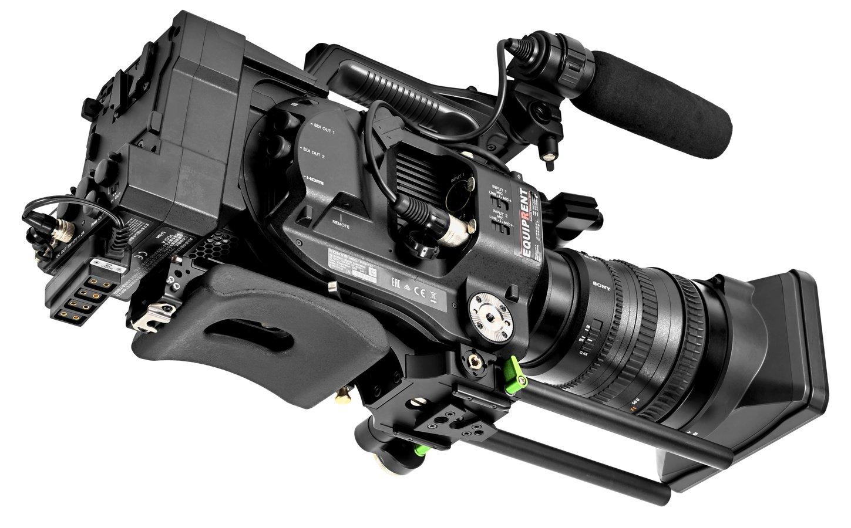 Sony FS7 mit Lanparte VMS-02 Schulterpolster.