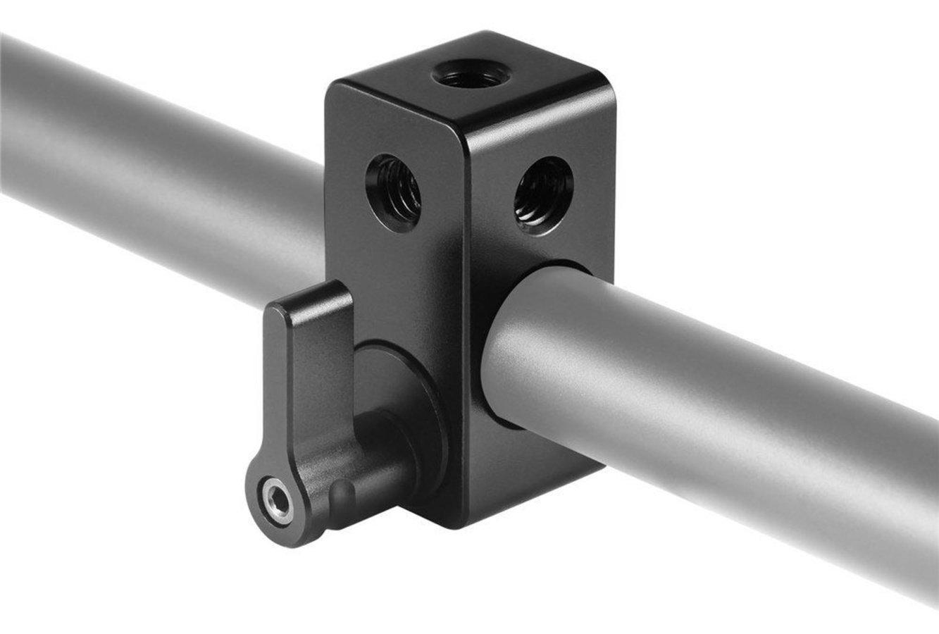 SmallRig 843 15mm Rod Adapter mit mehreren 1/4 Zoll Gewinde Foto Nr. 2