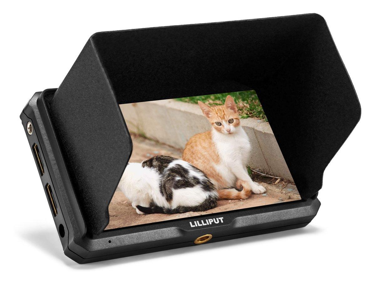 Lilliput A5 kompakter Full HD Monitor mit HDMI (12,7cm / 5 Zoll).