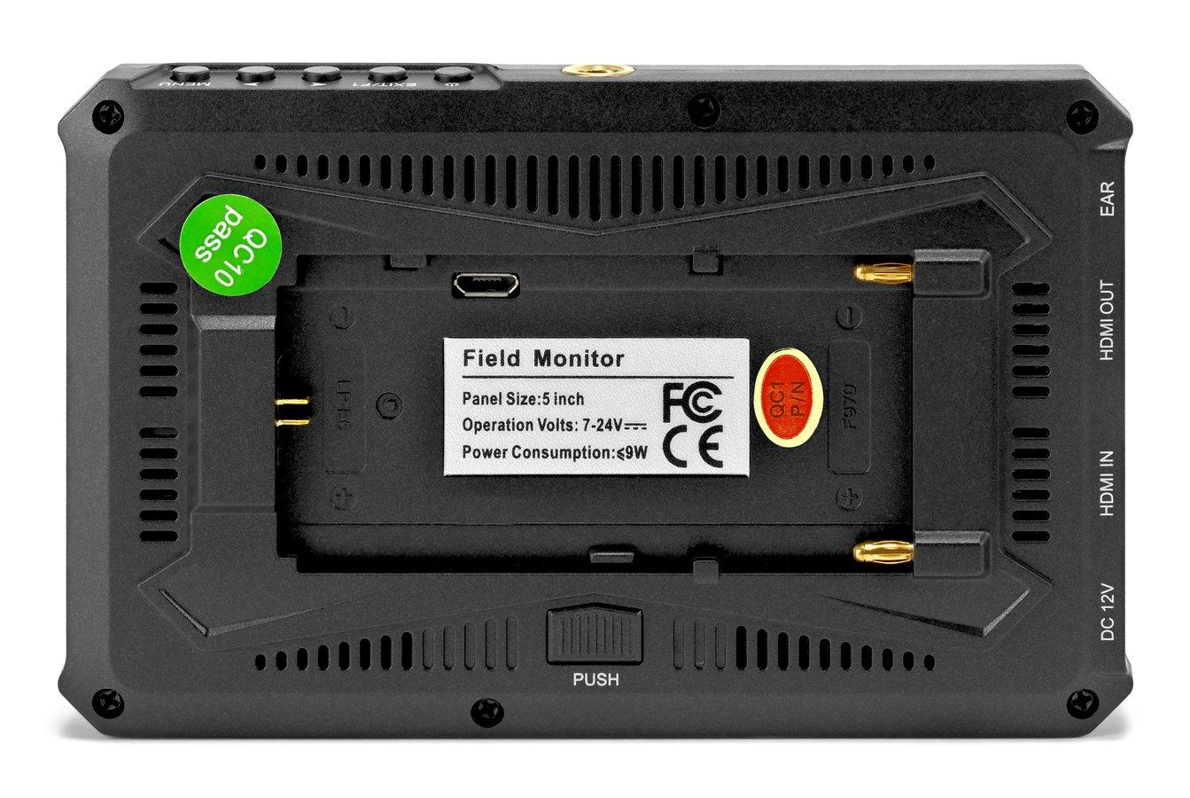 Lilliput A5 kompakter Full HD Monitor mit HDMI (12,7cm / 5 Zoll) Foto Nr. 4
