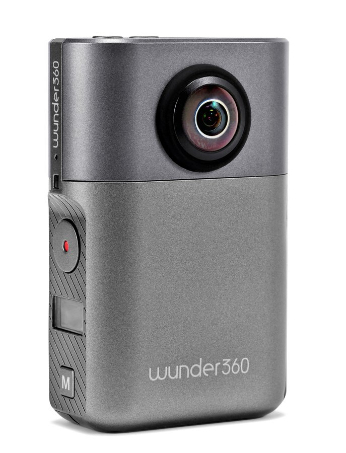 wunder360 S1 360 Grad Actionkamera mit Foto, Video und 3D Scan Funktion.
