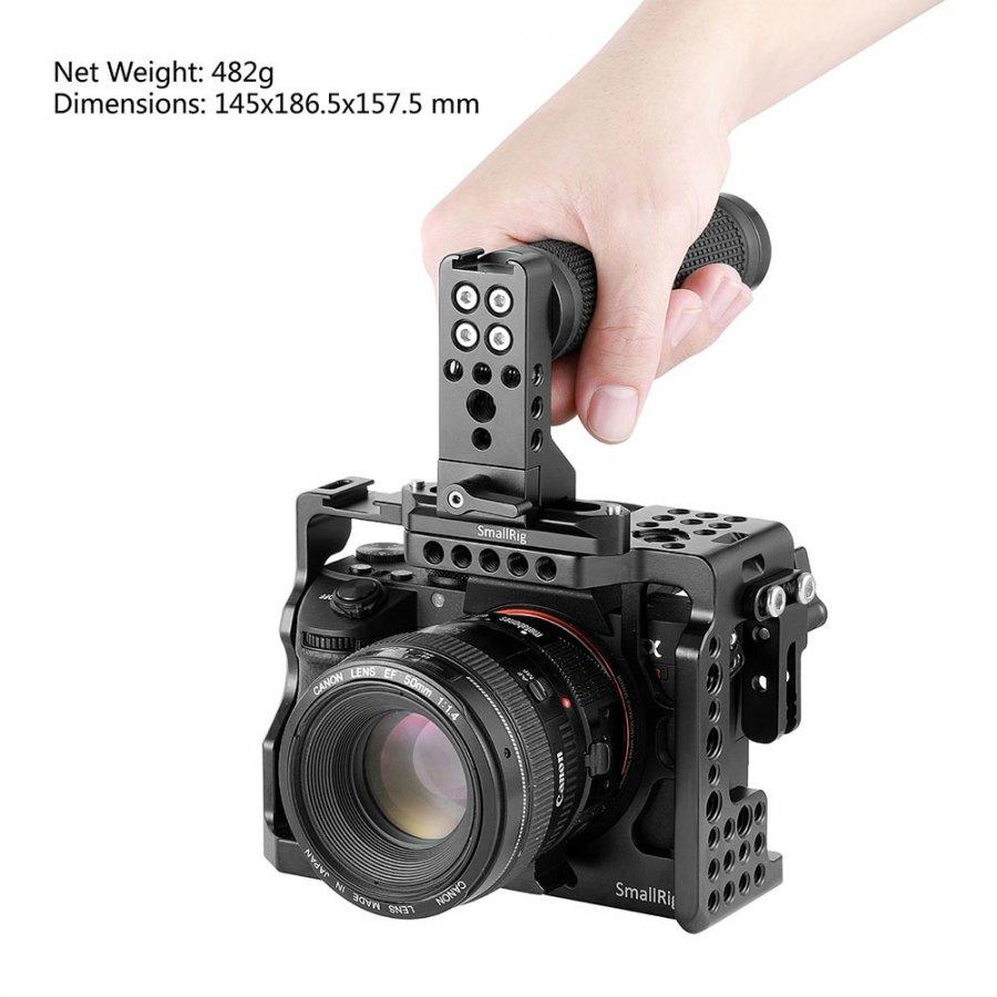 Savvies 6X Schutzfolie kompatibel mit Canon EOS 2000D Displayschutz-Folie Ultra-transparent
