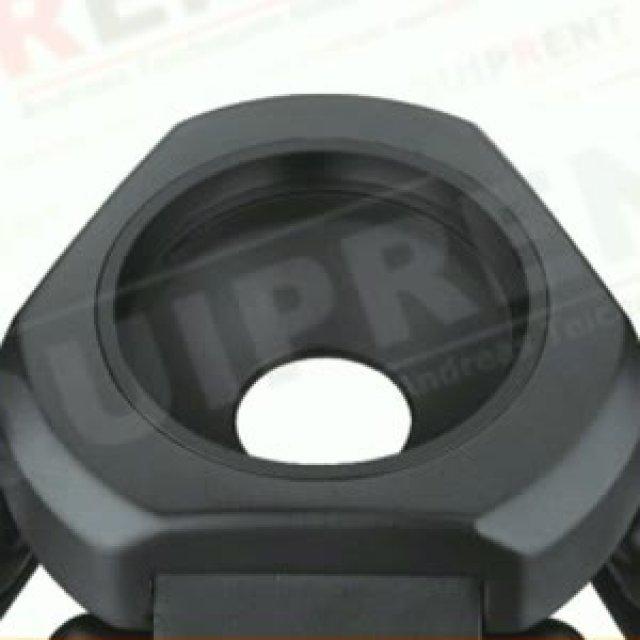 E-IMAGE CT7402: Kohlefaser (Carbon) - 75mm Halbschale - 65-156cm Foto Nr. 1