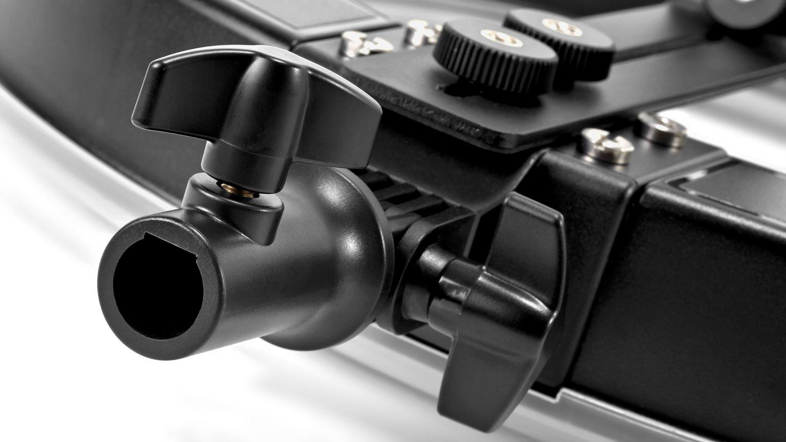 ROKO RL-4500C Bicolor LED Ringleuchte mit Kamerahalterung und Memory Funktion Foto Nr. 10