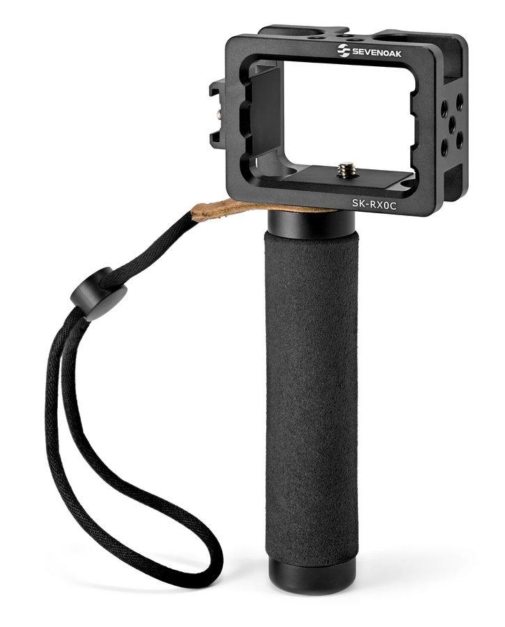 SevenOak SK-RX0C günstiger Cage mit Griff für Sony RX0 Actionkamera.