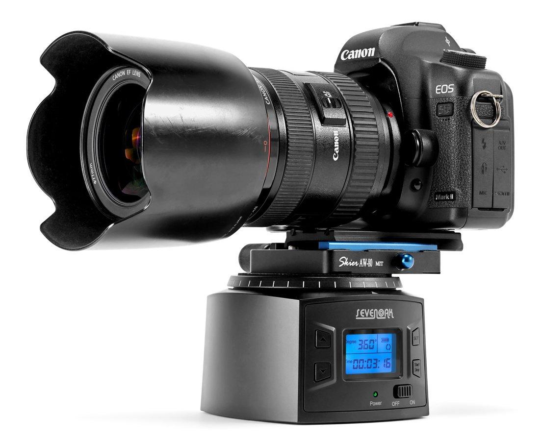 SevenOak SK-EBH2000 präzise einstellbarer elektronischer Panoramakopf.