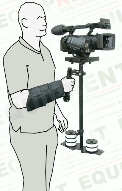 PROAIM Arm Brace / Armstütze für Flycam/Glidecam Foto Nr. 2