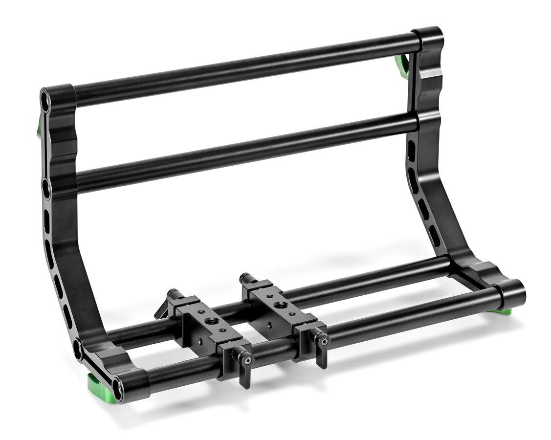 Das Vertical Video Rig besteht aus normalen 15mm Komponenten.