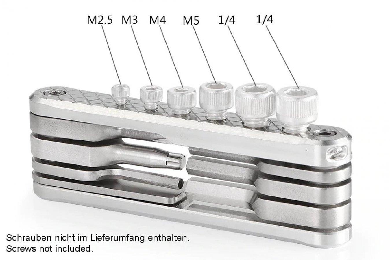SmallRig 2213 ausklappbares Multi-Werkzeug für Schrauben Foto Nr. 2
