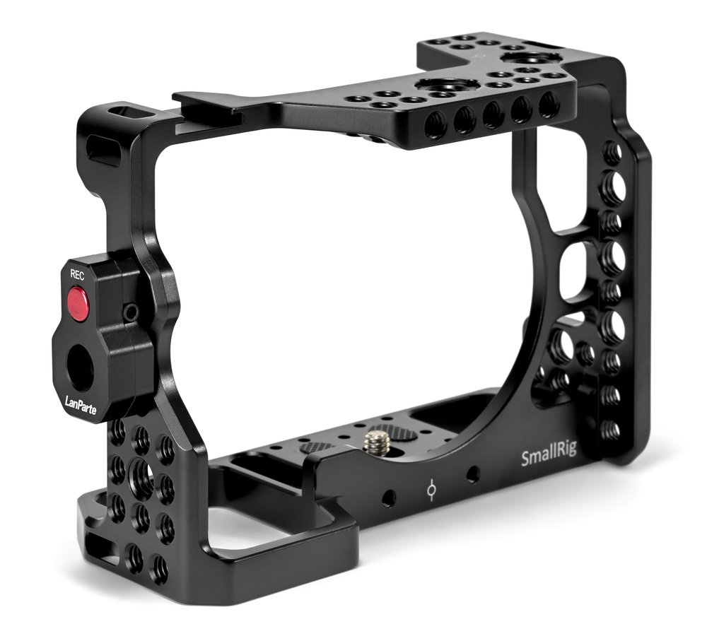 SmallRig Cage mit Videoauslöser.