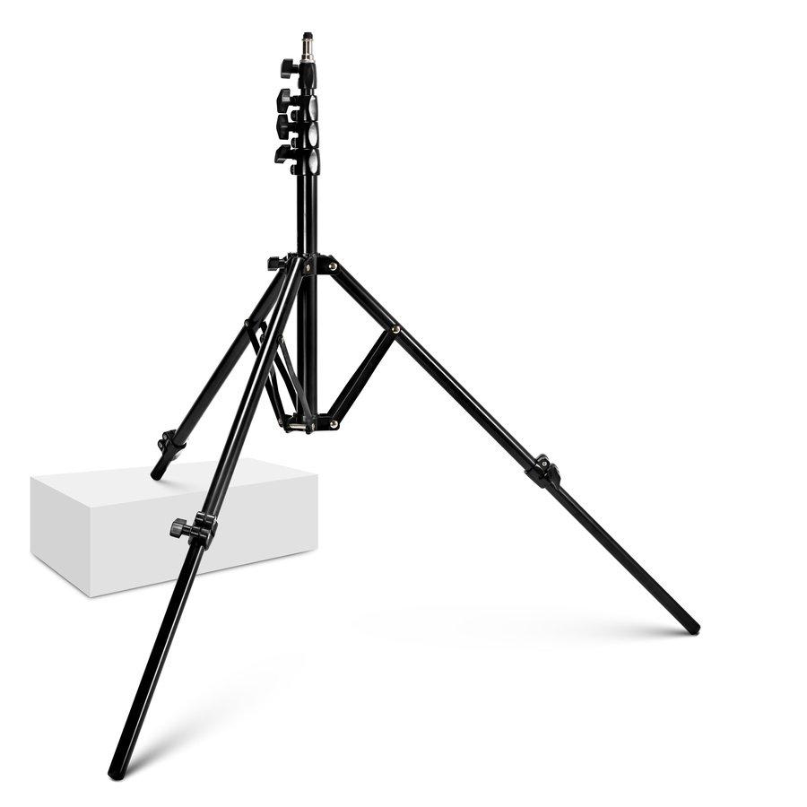 E-IMAGE LS-01 4-fach Lichtstativ 73-220cm mit individuell einstellbarer Beinlänge.