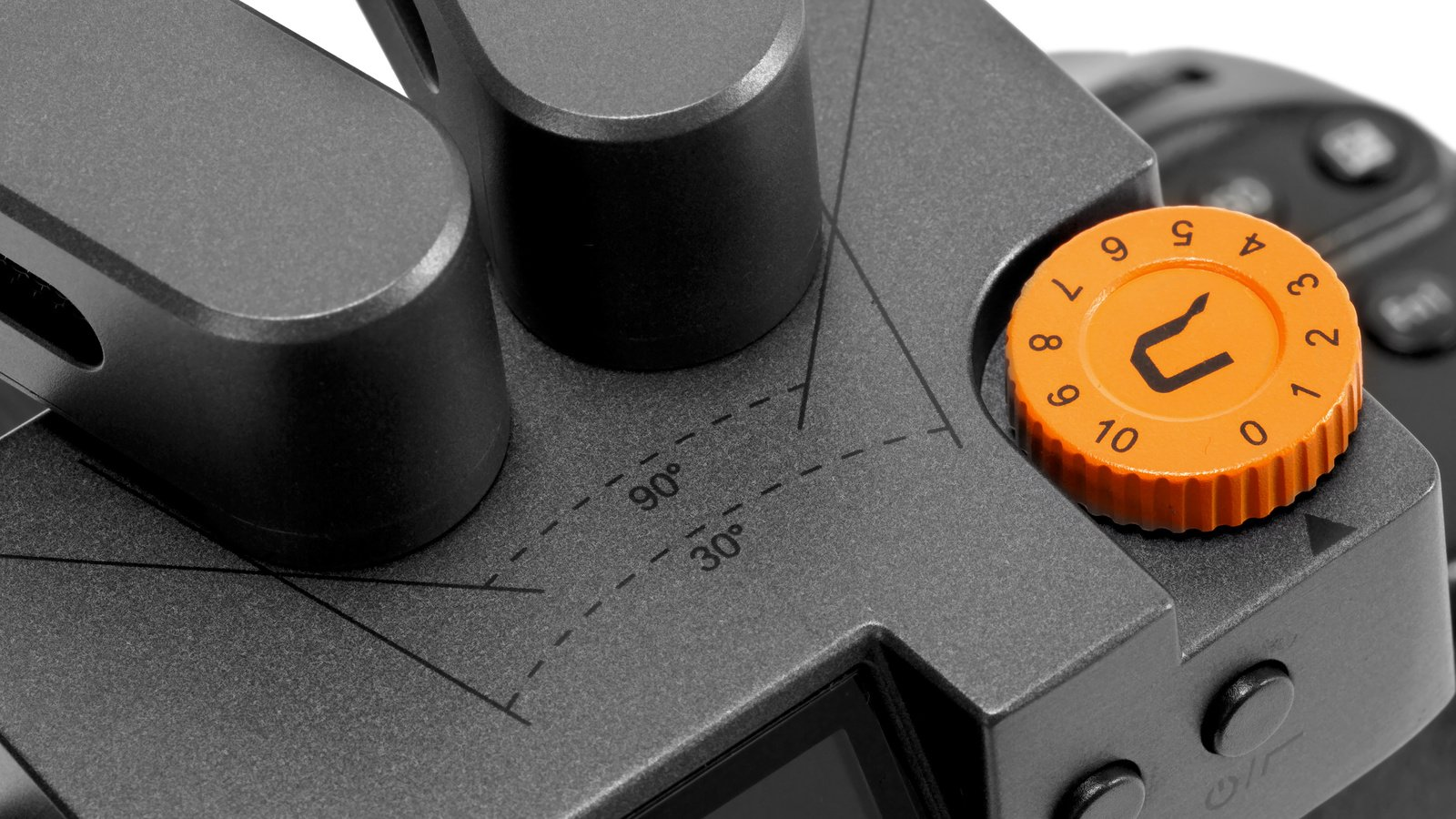 Die Lautstärke des eingebauten Verstärkers ist am Mikrofon steuerbar.