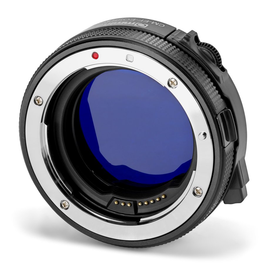 Commlite CM-EF-EOSR VND Canon EF zu EOS R Objektivadapter mit VARI ND Filter.