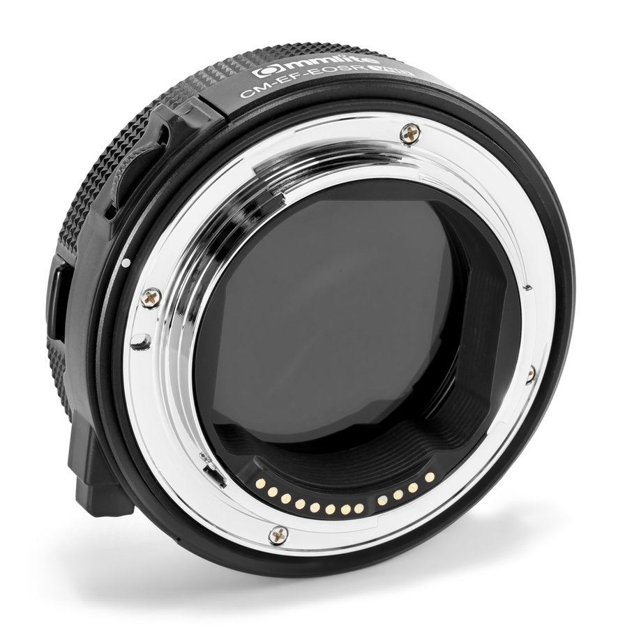 Commlite CM-EF-EOSR VND Canon EF zu EOS R Objektivadapter mit VARI ND Filter Foto Nr. 2