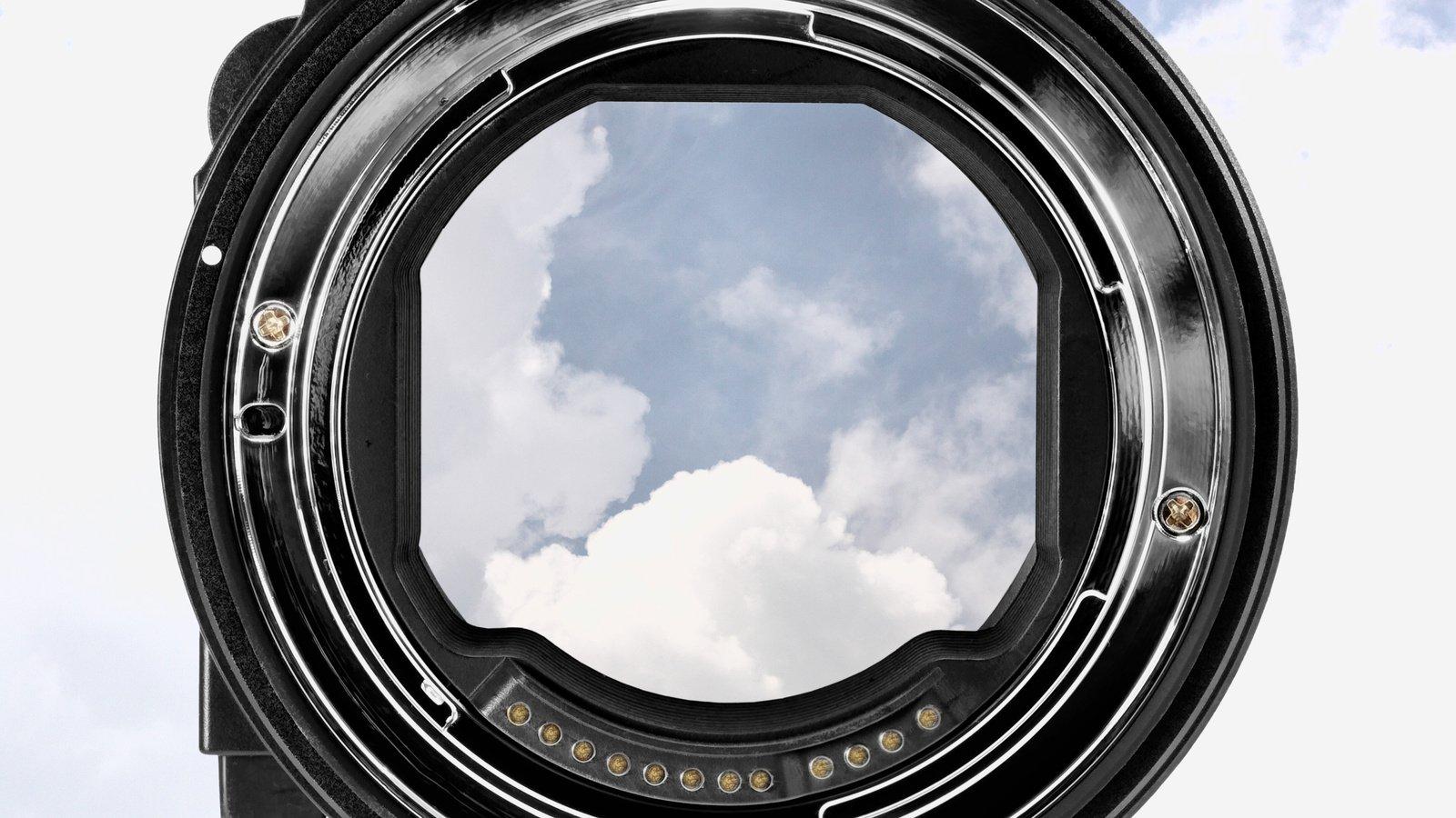 Commlite CM-EF-EOSR VND Canon EF zu EOS R Objektivadapter mit VARI ND Filter Foto Nr. 4
