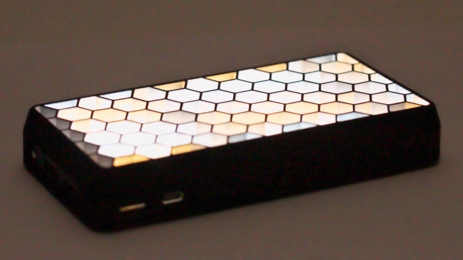 SmallRig 3157 Pix M160 RGB LED Kameraleuchte mit eingebautem Akku Foto Nr. 6
