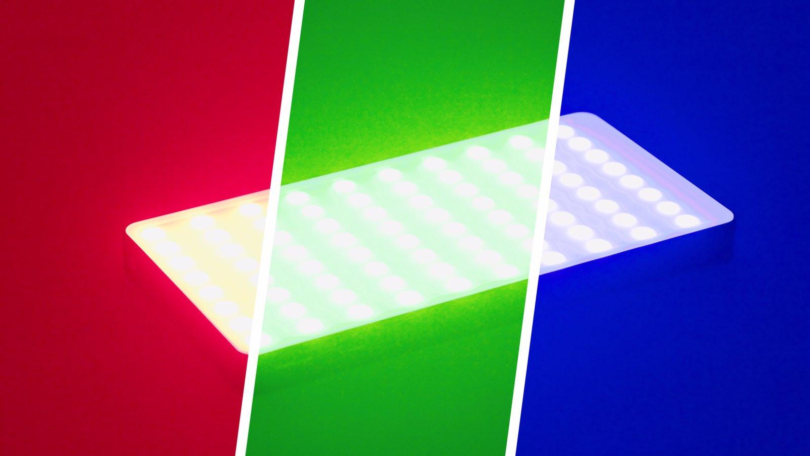 SmallRig 3157 Pix M160 RGB LED Kameraleuchte mit eingebautem Akku Foto Nr. 7