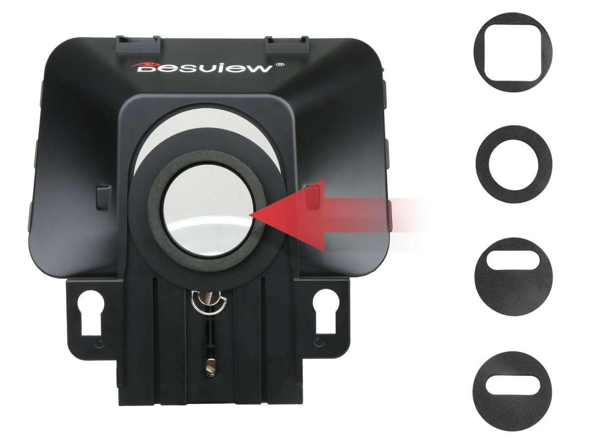 Desview T3 Teleprompter für Kamera, Tablet oder Smartphone Foto Nr. 3
