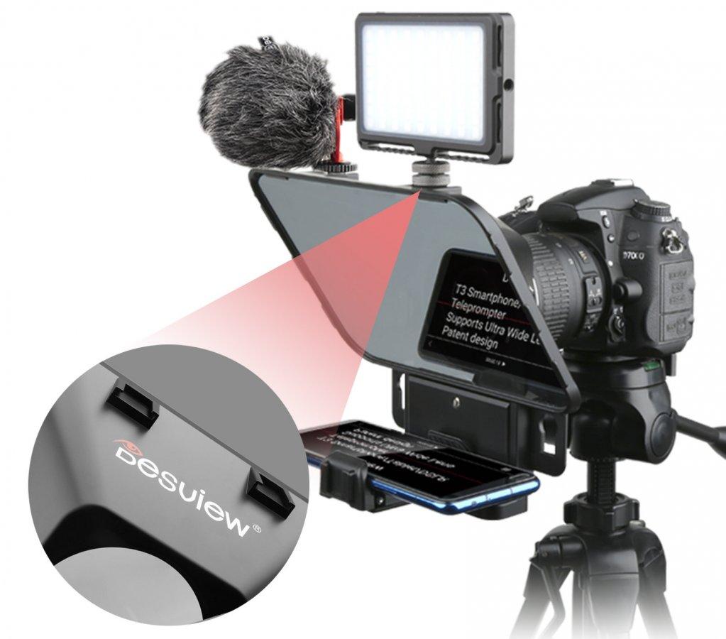 Desview T3 Teleprompter für Kamera, Tablet oder Smartphone Foto Nr. 5