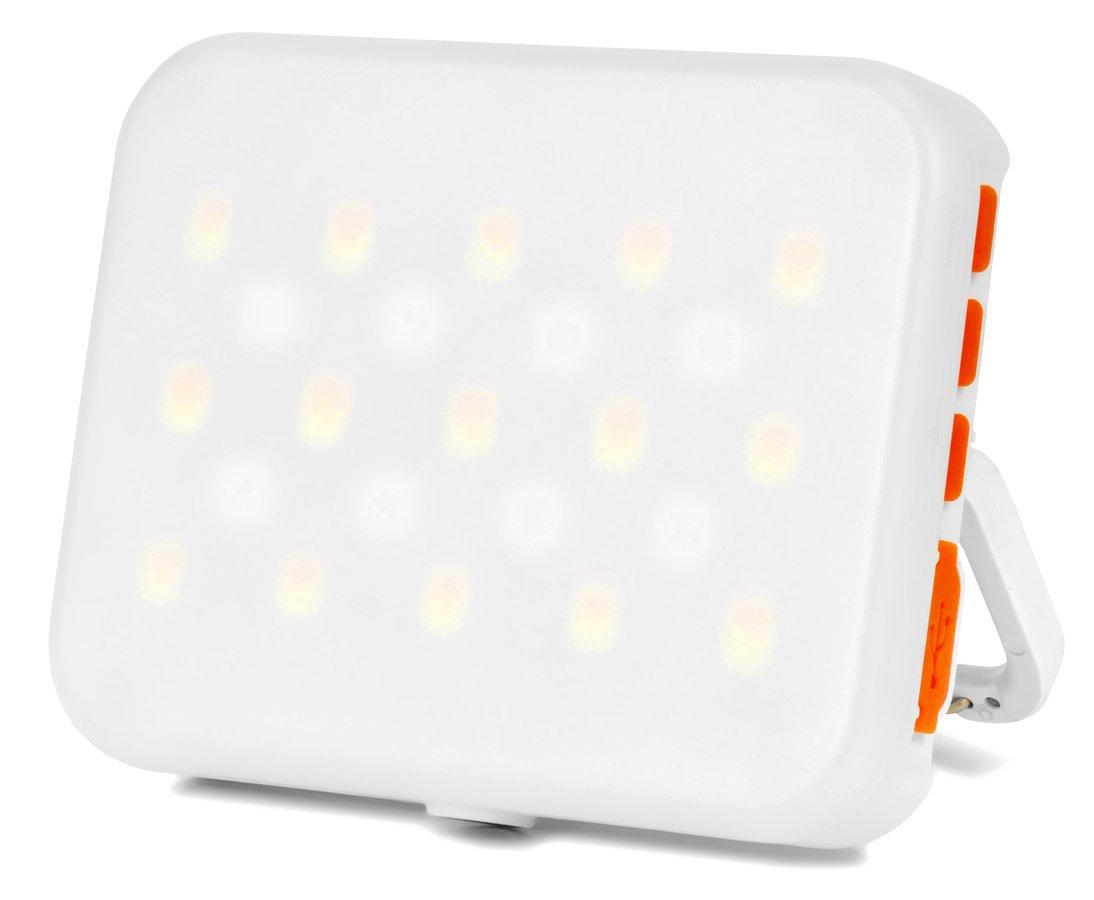 ROKO LED-45RGB (weiß) mini RGB und BiColor Effektleuchte mit Akku.