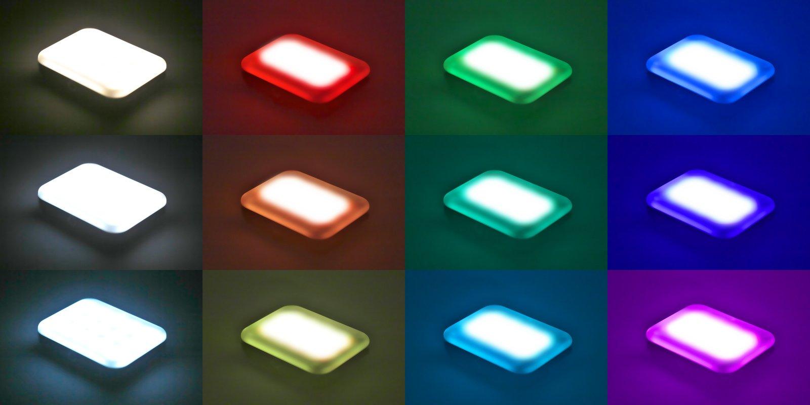 ROKO LED-45RGB (weiß) mini RGB und BiColor Effektleuchte mit Akku Foto Nr. 9
