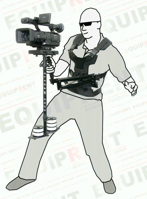 PROAIM Comfort Arm + Vest / Federarm + Weste für Flycam/Glidecam Foto Nr. 1