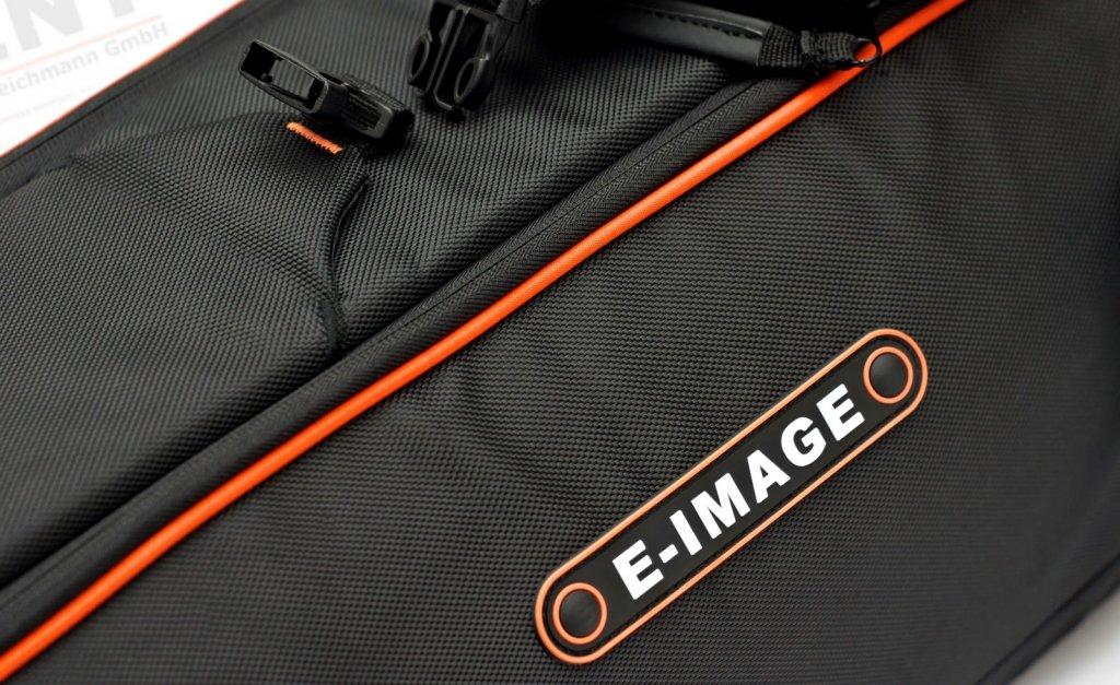 Robuste Nylon-Oberfläche der E-IMAGE Oscar T30 Stativtasche.