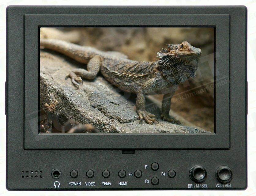 Lilliput 569GL-50NP HO/Y HDMI Monitor mit 13cm (5 Zoll) Bilddiagonale.