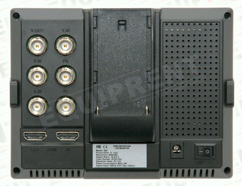 Lilliput 569GL-50NP HO/Y HDMI Monitor mit 13cm (5 Zoll) Bilddiagonale Foto Nr. 1