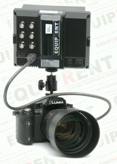 Lilliput 569GL-50NP HO/Y HDMI Monitor mit 13cm (5 Zoll) Bilddiagonale Foto Nr. 3