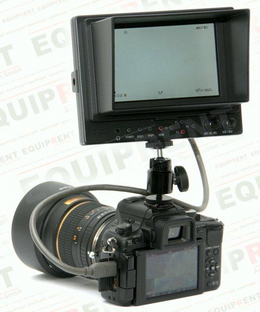 Lilliput 569GL-50NP HO/Y HDMI Monitor mit 13cm (5 Zoll) Bilddiagonale Foto Nr. 4
