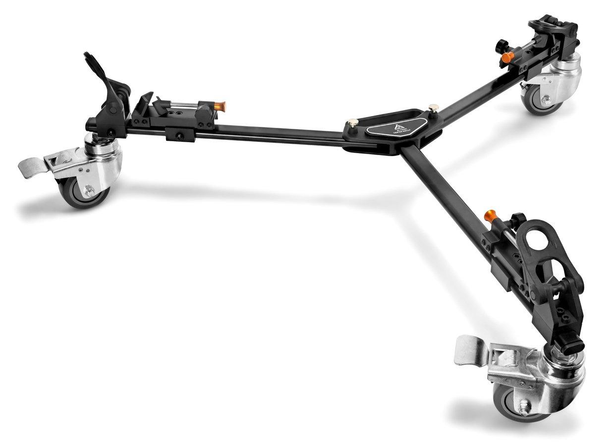 E-IMAGE EI-7003C Rollspinne für Fotostative und Videostative.