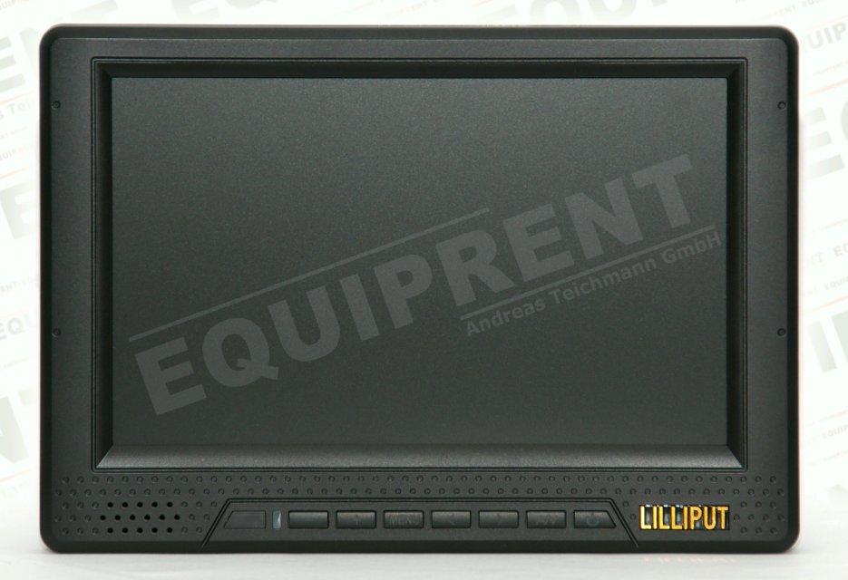 Lilliput 668GL-70N P/H/Y 18cm TFT Monitor - EQUIPRENT Produktions-Kit Foto Nr. 1