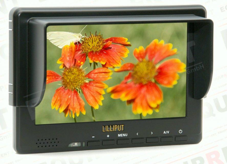 Lilliput 667GL-70NP H/Y: 18cm/7 Zoll TFT Monitor, 800x480, HDMI in.
