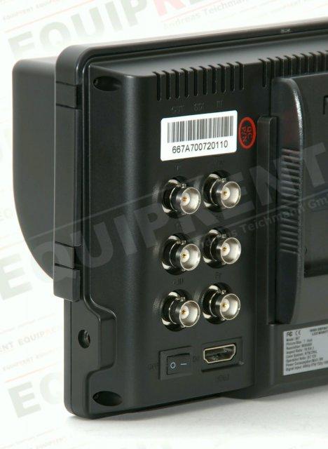 Lilliput 667GL-70NP H/Y: 18cm/7 Zoll TFT Monitor, 800x480, HDMI in Foto Nr. 2