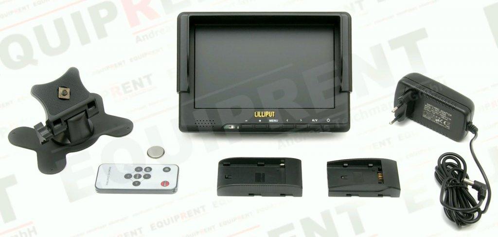 Lilliput 667GL-70NP H/Y: 18cm/7 Zoll TFT Monitor, 800x480, HDMI in Foto Nr. 3