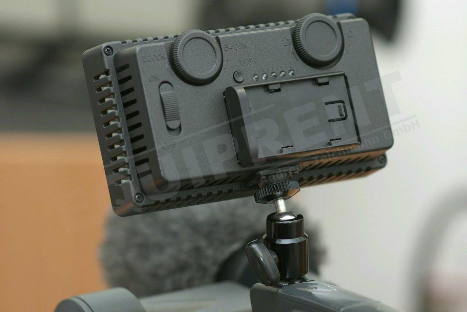 Akkuadapter für CN-240CH LED Leuchte (für Panasonic CGA-D54) Foto Nr. 1