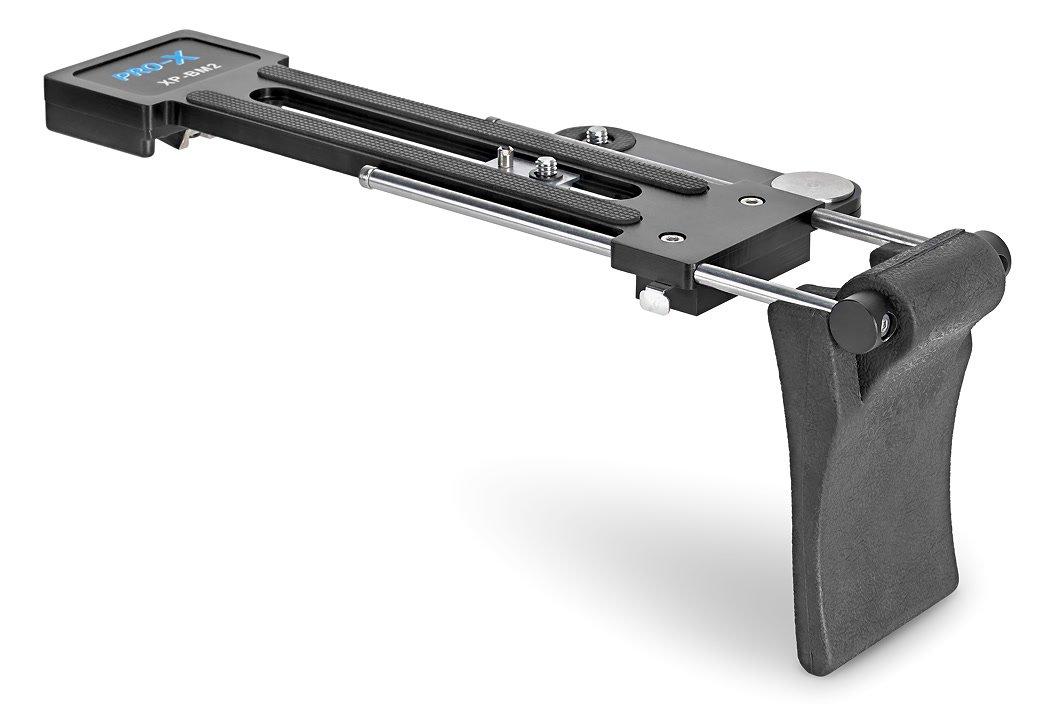 Pro-X XP-BM2 kompakte Schulterstütze für Camcorder oder Canon C100 / C300.