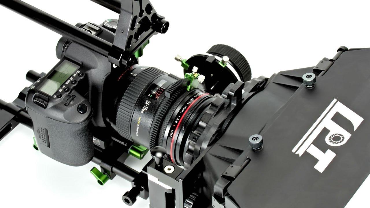 Lanparte Rig mit FF-02 Follow Focus und Canon DSLR.