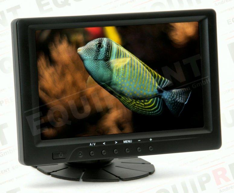 Lilliput 669GL-70NP: 18cm/7 Zoll TFT Monitor - 800x480 - HDMI/DVI/FBAS.